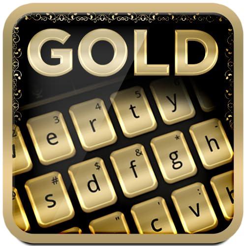 Gold Tastatur Thema