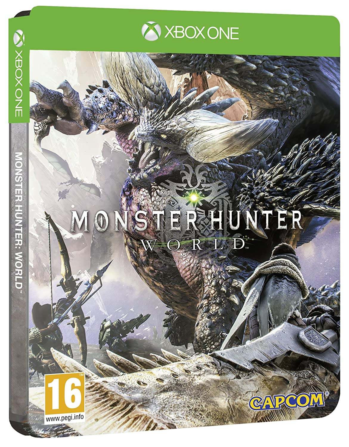 Monster Hunter World Steel Book Amazon.co. Edition Exclusive to Japan Maker Brand Cheap Sale Venue New
