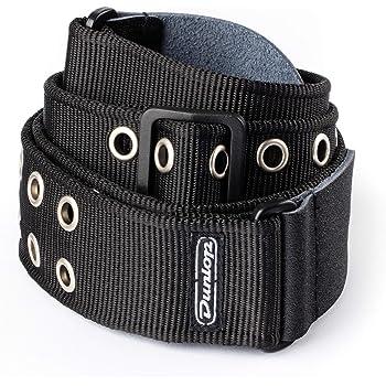 Dunlop D3819BK Black Grommet Strap