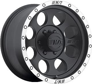 Mickey Thompson Classic Baja Lock Matte Black Wheel with Machined Finish (16x8