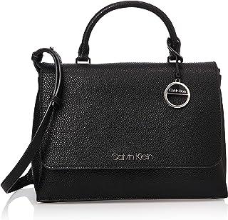 حقيبة للامتعة والسفر بمقبض علوي على الجانبين من كالفن كلاين، اسود، 29 سم - K60K606267
