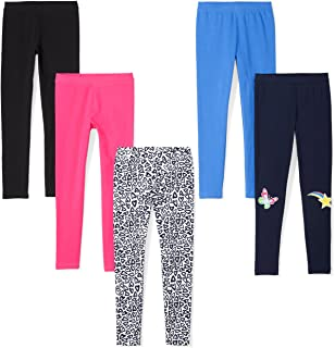 Amazon Brand - Spotted Zebra Girls' Toddler & Kids 5-Pack...