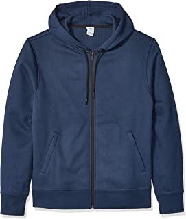 Men's Water-Repellent Thermal-Lined Full-Zip Fleece Hoodie