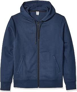 Men's Water-Repellent Thermal-Lined Full-Zip Fleece Hoodie