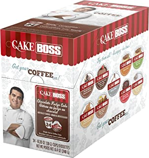 Cake Boss Coffee, Chocolate Fudge Cake, 24 Count, 8.4 OZ