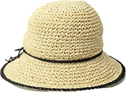 LAUREN Ralph Lauren - Packable Crochet Tipped Hat