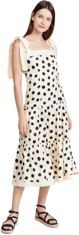 Direct stock discount AGUA BENDITA ! Super beauty product restock quality top! Women's Midi Dress Joaquina