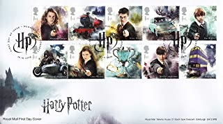 harry potter first day cover stamps