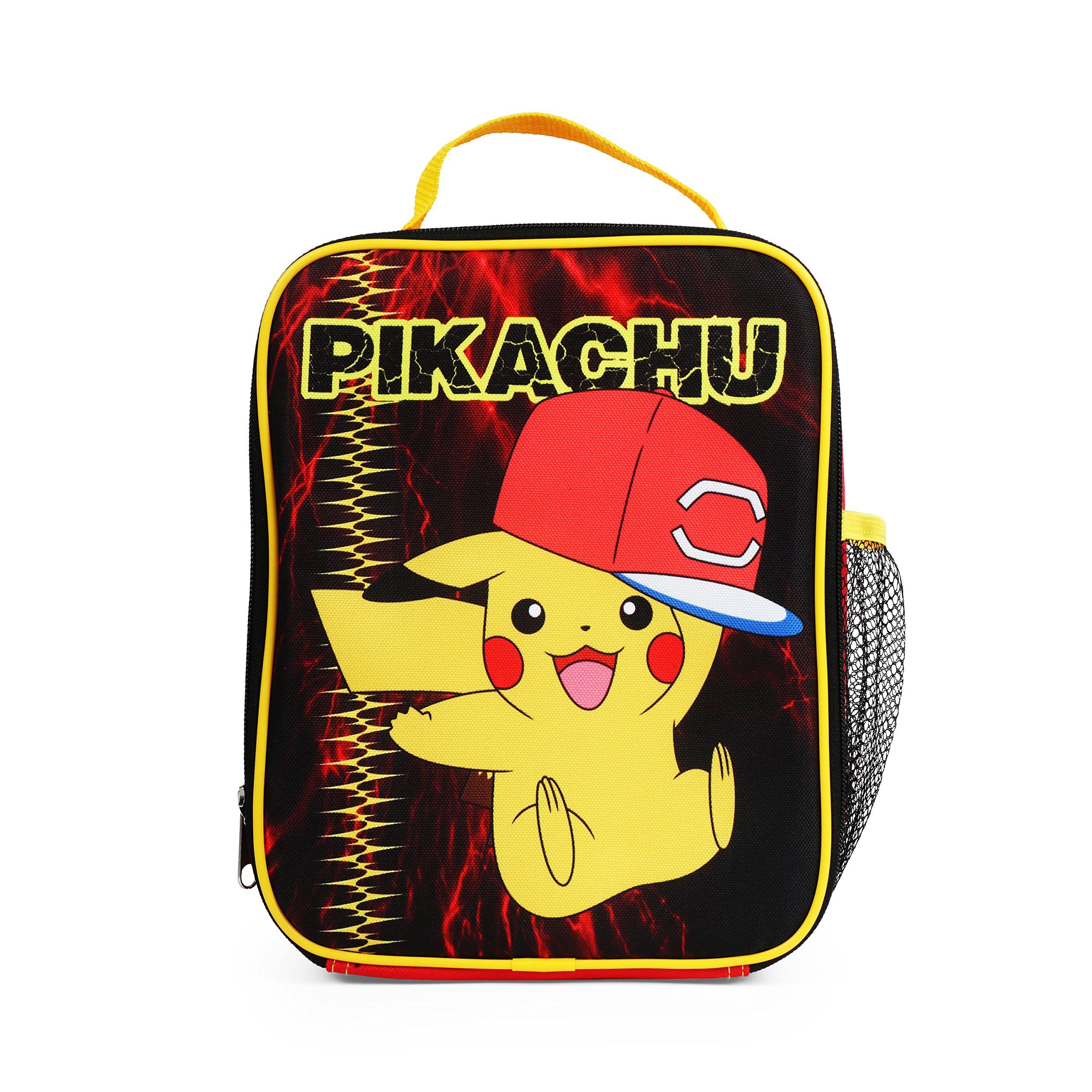 "KZ23583774 Pokemon PIKACHU Lunch Bag 8/"" x 10/"""