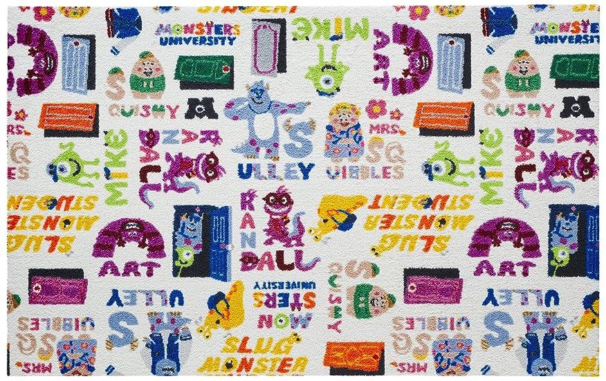 申し込む彫る再集計Disney Mat Collection / ディズニー 玄関マット Monsters, Inc / モンスターズインク  75  ×  120  cm BK00060