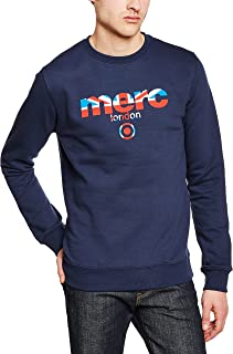 Merc of London Otto - Sudadera, con manga larga para hombre