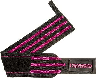 Contraband Pink Label 1007 Wrist Wraps in Light/Medium/Heavy Strength