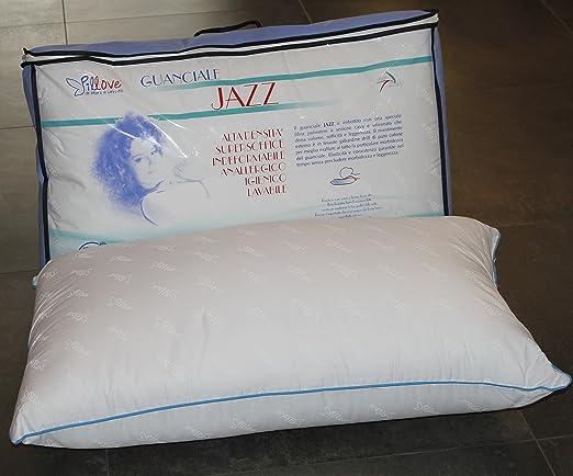 Il Guanciale Jazz Pillove Supersoffice Alta Densita Cuscino In Cotone Gabardine Anallergico Lavabile Amazon It Casa E Cucina