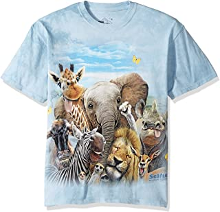 The Mountain African Selfie Adult T-Shirt