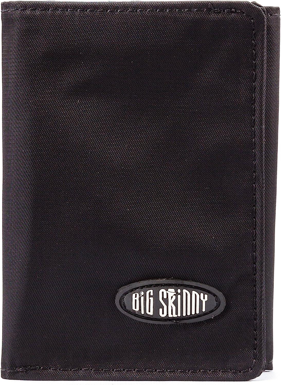 Big Rapid rise Skinny Men's RFID Blocking 5 popular Tri-Fold Slim Holds Wallet Up to