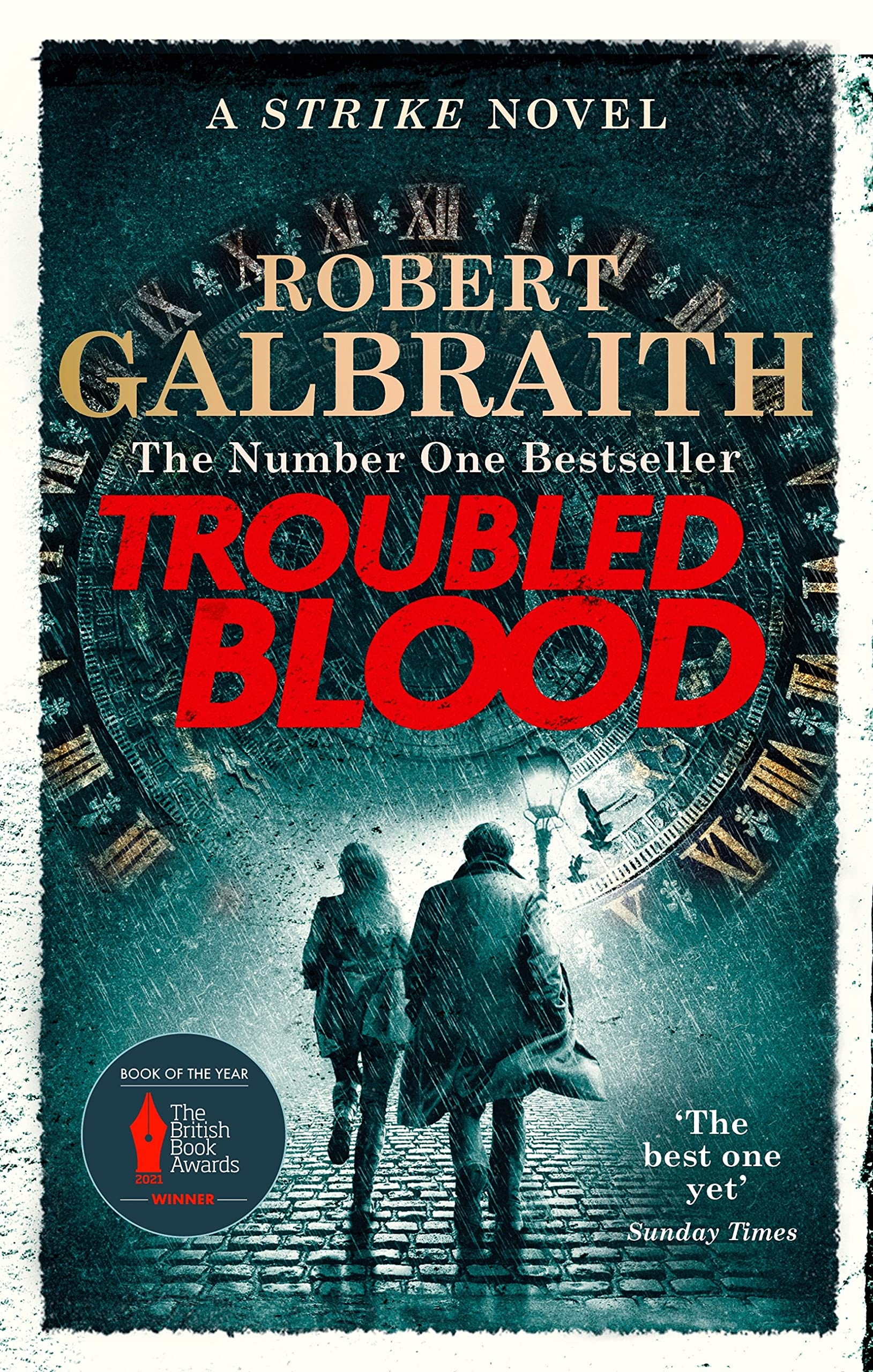 Cover image of Troubled Blood by Robert Galbraith