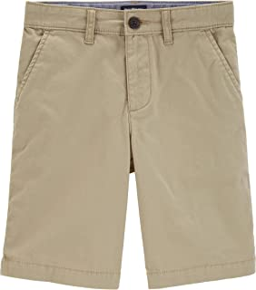Osh Kosh Boys' Little Stretch Flat Front Short