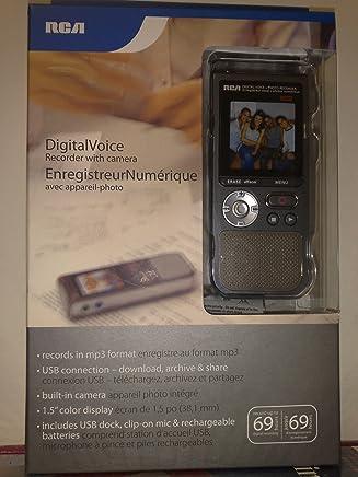 Amazon com: digital voice recorder - RCA: Electronics