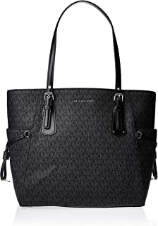 MICHAEL Michael Kors Voyager East/West Signature Tote Black One Size