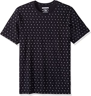 True Religion Men's All Over Monogram Tee