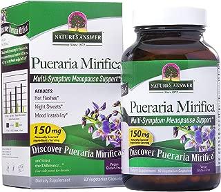 Nature's Answer Pueraria Mirifica Vegetarian Capsules, 60-Count