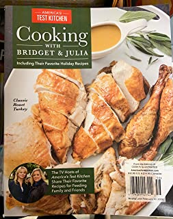 America's test kitchen cooking with Bridget and Julia