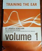 Méthodes et pédagogie ADVANCE MUSIC DONELIAN A. - TRAINING THE EAR FOR THE IMPROVISATION MUSICIAN VOL 1 + 2 CD Dictées musicales