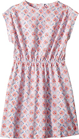 Printed Jersey Dress (Toddler/Little Kids)