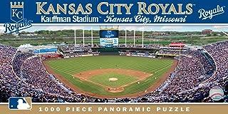 MasterPieces MLB Kansas City Royals Stadium Panoramic Jigsaw Puzzle, Kauffman, 1000 Pieces