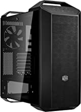 Cooler Master MasterCase MC500 Mid-Tower ATX Case w/Freeform Modular,  Front Mesh Ventilation, Tempered Glass Side Panel, Carrying Handle & Cable Management Cover