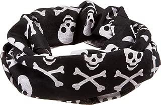 skull and crossbones headband