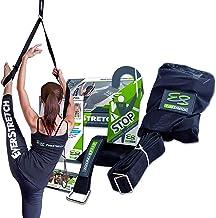 EverStretch 脚用ストレッチバンド: ドア掛け開脚トレーナーPRO :ストレッチ機器 バレエ、ダンス、MMA、テコンドー、体操などに。持ち運びにも便利。