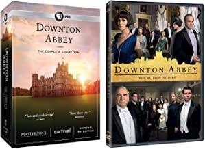 Downton Abbey Complete Series DVD and Downton Abbey Movie 2019 DVD