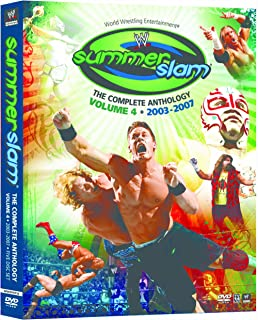 WWE Summerslam: The Complete Anthology, Volume Four