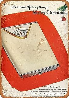 CoareL 1955 Borg Bath Scale for Christmas - Vintage Look 8