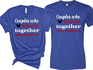 Couple who Disney Together Stay Together Shirt, Matching Couple Shirts, Disney Shirts