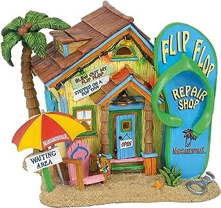 Department 56 Margaritaville Village Flip Flop Repair Shop Lit Building, 8.5