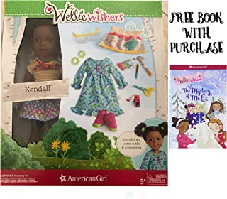 American Girl WellieWishers Doll & Accessory Set (Kendall)