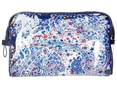 Vera Bradley Clear Beach Cosmetic (Fireworks Paisley) Cosmetic Case