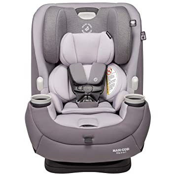 Maxi-Cosi Pria 3-in-1 Convertible Car Seat, Silver Charm, One Size: image