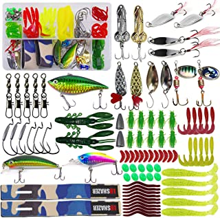 4 Sets//400pcs Micro Fishing Lures Bass Bait DOP mealworms Outdoor Tackle EF