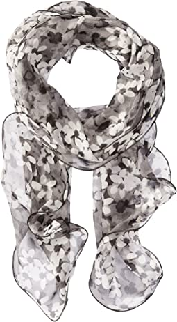 Lina Silk Oblong Scarf
