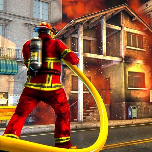 Juegos de bomberos de la ciudad de Nueva York: simulador de conducción de camiones gratuito
