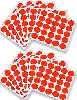 EasyShot Shooting Target Pasters 1,000-Pack (Orange) Premium Quality Target Repair Stickers to Maximize Target Life.