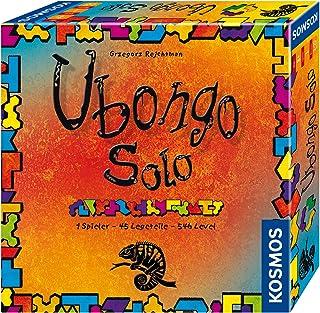 Kosmos FKS6942030 694203 Ubongo Solo, 1 spelare 45 bitar 546 nivåer, knoppkul och läggspel, brädspel från 8 år