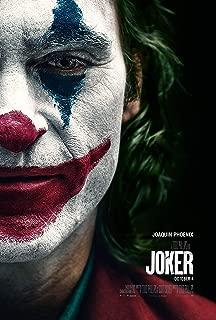 映画 ジョーカー バットマン 約90cm×60cm シルク調生地のアートポスター 01 ホアキン・フェニックス ロバート・デニーロ ダークナイト トッド・フィリップス