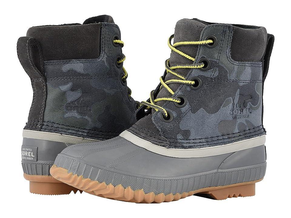 SOREL Kids Cheyanne II Lace (Little Kid/Big Kid) (Dark Grey/Dove) Boys Shoes