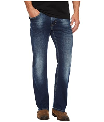 Buffalo David Bitton King-X Slim Bootcut Leg Jeans in Authentic and Worn (Authentic and Worn) Men