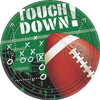 football paper plates