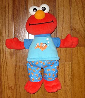 Elmo Talking Sleepytime Plush with Music - 12 Inches